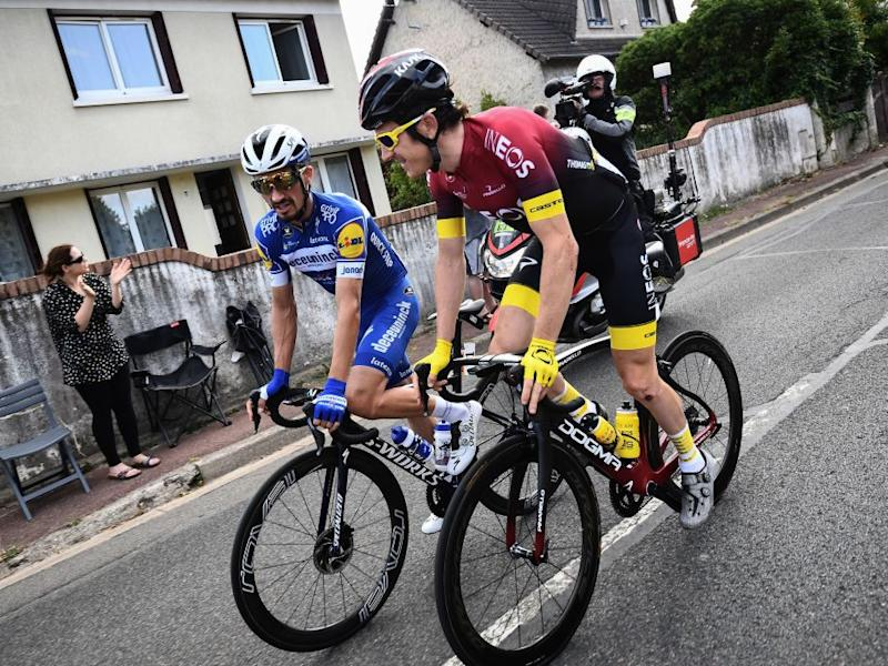 Geraint Thomas will also feature at the championshipsAFP via Getty Images