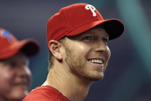 <p>Roy Halladay (1977-2017): Two-time Cy Young Award winner and eight-time All-Star pitcher. </p>