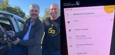 Sprint completes world's first 5G data call using 2.5 GHz and Massive MIMO on its commercial network.
