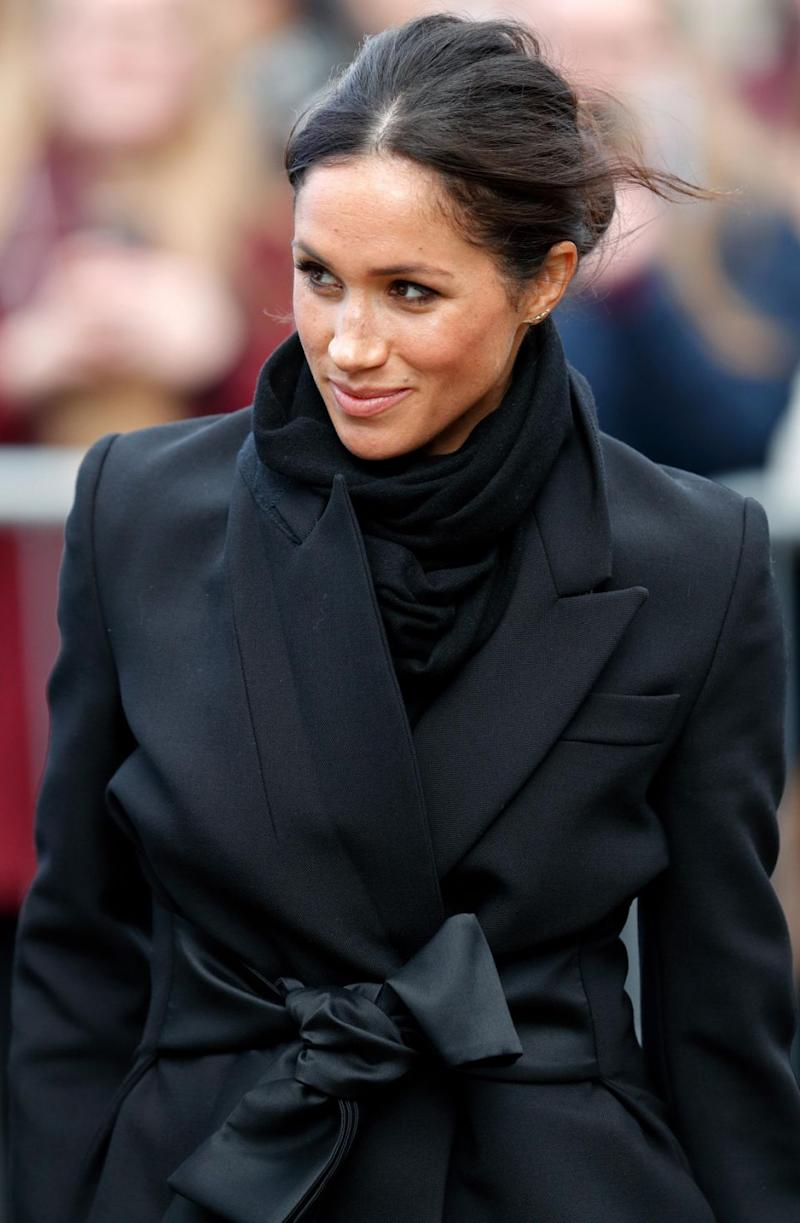 Meghan Markle has apparently clashed with the Queen over royal wedding. Photo: Getty Images