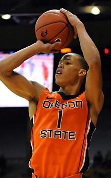 Jared Cunningham has sparked Oregon State with some outstanding defense