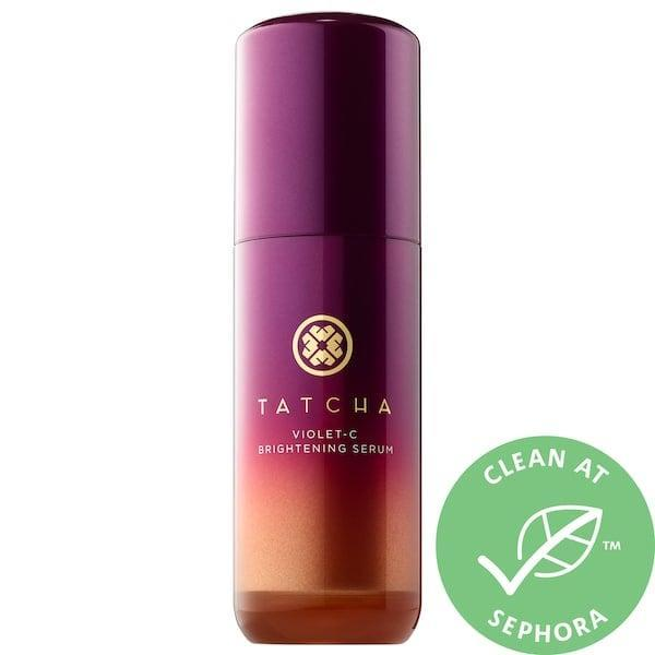 "<p><strong>Item: </strong><span>Tatcha Violet-C Brightening Serum 20% Vitamin C + 10% AHA</span> ($88) </p> <p><strong>What our editor said:</strong> ""I started to notice dark spots (the ones along my cheek bones from faded acne scars) started to disappear by the third week. By week four, my skin experienced a full-blown transformation. My skin was glow-y - so much so, I'd started using less concealer and skipping foundation completely. It was also extremely soft and even in tone."" - Jesa Marie Calaor, contributor</p> <p>If you want to read more, here is <a href=""https://www.popsugar.com/beauty/Tatcha-Violet-C-Brightening-Serum-Review-45637706"" class=""link rapid-noclick-resp"" rel=""nofollow noopener"" target=""_blank"" data-ylk=""slk:the complete review"">the complete review</a>.</p>"