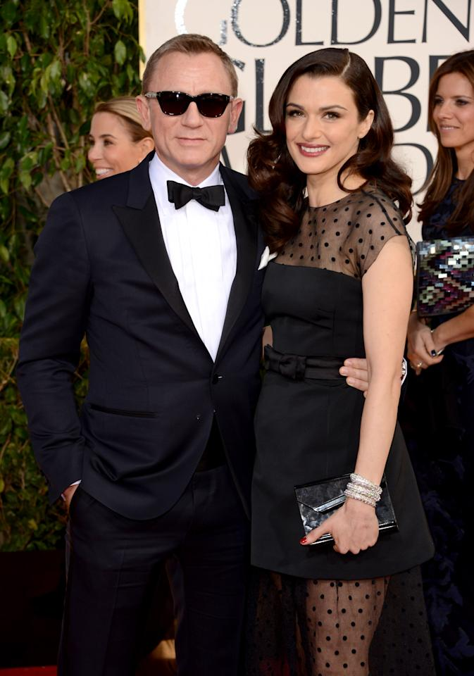 """<b>Rachel Weisz</b><br>  Many actresses have been vocal about their desire to be a Bond girl. But who knew Rachel Weisz, who is Bond's real-life gal, wanted to be one, too. When Weisz, who is married to Bond actor Daniel Craig, was asked by Esquire UK whether she would take on such a part, she said, """"I'd like to! I wouldn't say no. I'm not a snob about entertainment."""" And hey, they'd get to spend more time with each other if they worked together. Win-win.  <br><br><b>Click ahead to see who else has made their public bid to play a 007 femme fatale.</b>"""