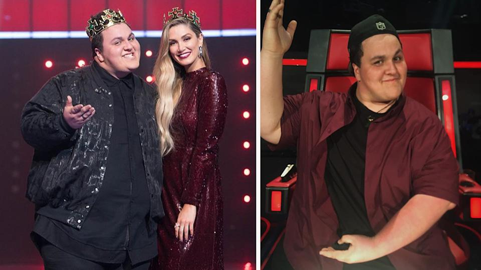 Winner of The Voice Australia in 2017, Judah Kelly, has revealed that contestants shouldn't be expecting to become famous after appearing on the show. Photo: Instagram/Judah Kelly