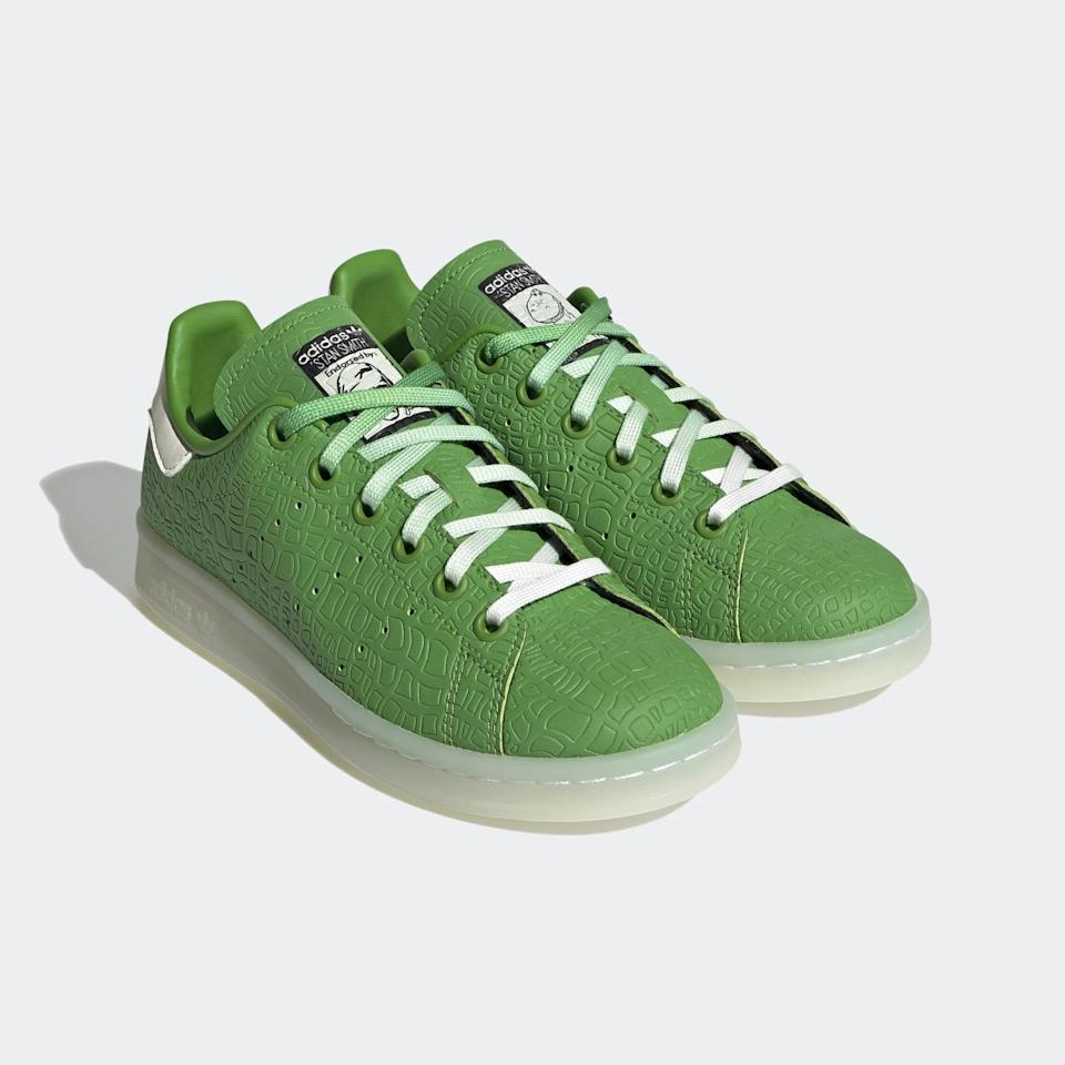 <p><span>Adidas Stan Smith Toy Story Rex Shoes For Big Kids</span> ($75)</p>