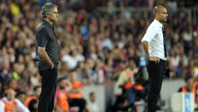 """<p>While it might come as a complete shock that somebody of Mourinho's honesty and integrity would ever turn to a terrible excuse to deflect attention away from his side, he did just that in 2011.</p> <br><p>After his Real Madrid side lost to Barcelona in the Supercopa, Mourinho proclaimed it was due to a lack of ball-boys. If that wasn't enough, he also said this was """"something typical of small teams"""", referring to a Barcelona side who had won the treble the previous season.</p>"""