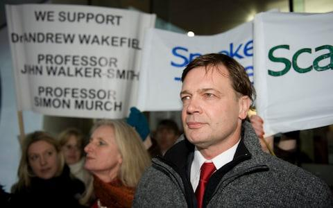 Andrew Wakefield's fraudulent Lancet paper sparked a worldwide scare - Credit: Paul Grover