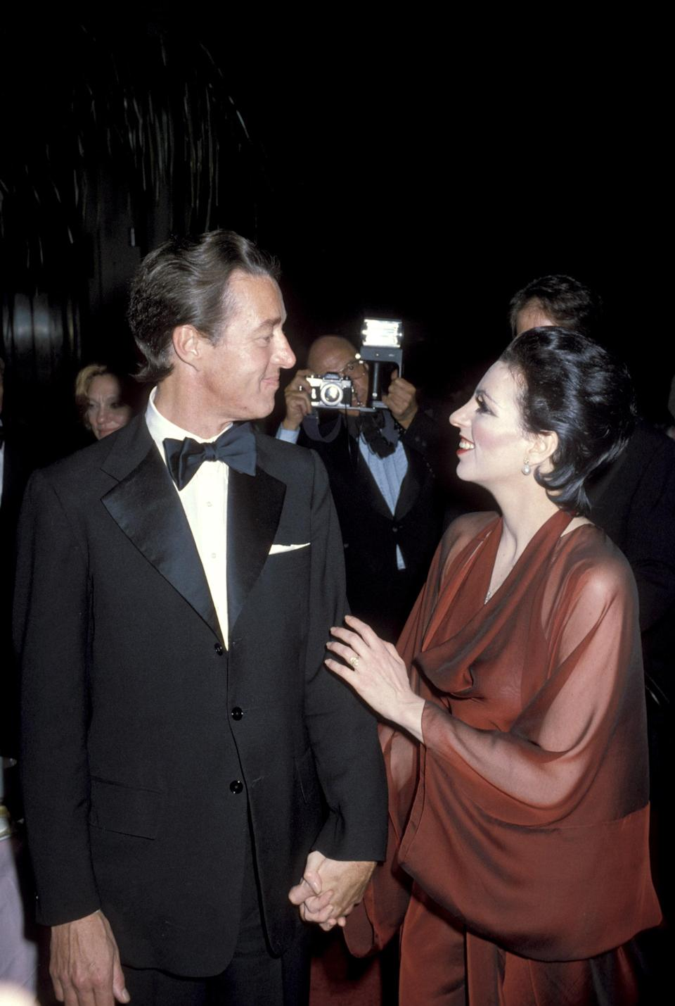 Halston and Minnelli attend the Martha Graham Benefit at the Metropolitan Opera House, 26 June 1978