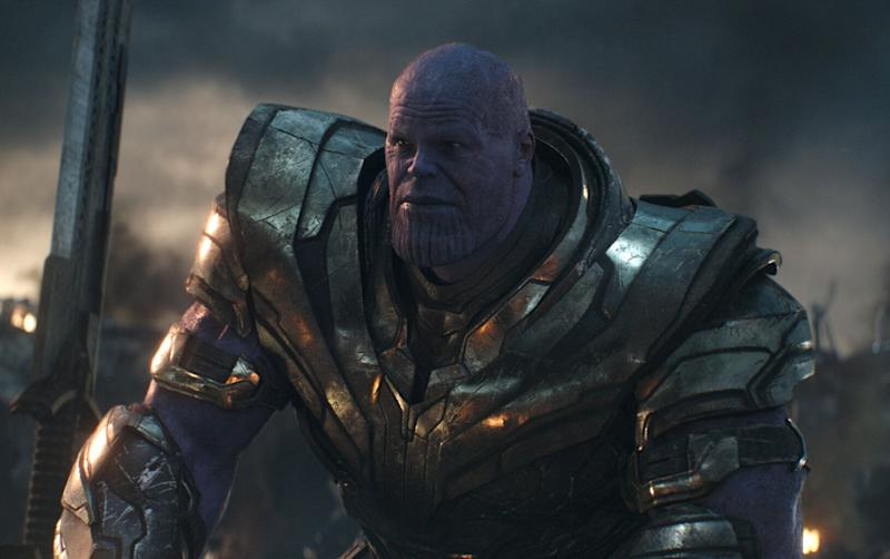 Josh Brolin returned as the mad titan Thanos in 'Avengers: Endgame'. (Credit: Marvel)
