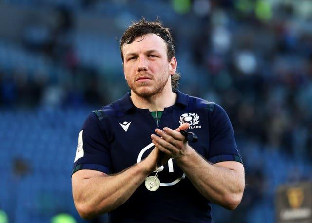 Hamish Watson was forced to withdraw from Saturday's pre-tour curtain raiser in Edinburgh due to concussion in training