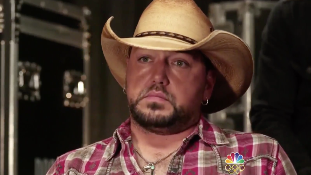 Country singer Jason Aldean has opened up about his experience performing during last month's mass shooting at a Las Vegas music festival.