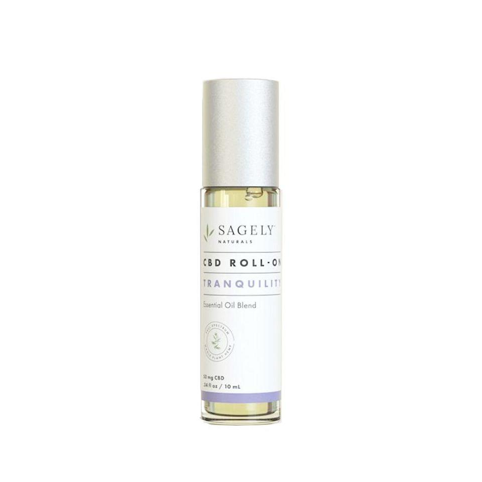 """<p><strong>Sagely Naturals</strong></p><p>sagelynaturals.com</p><p><strong>$29.99</strong></p><p><a href=""""https://go.redirectingat.com?id=74968X1596630&url=https%3A%2F%2Fwww.sagelynaturals.com%2Fcollections%2Fcalm-centered%2Fproducts%2Fcalm-centered-roll-on&sref=https%3A%2F%2Fwww.bestproducts.com%2Flifestyle%2Fg291%2Ftiny-stocking-stuffers-for-everyone%2F"""" rel=""""nofollow noopener"""" target=""""_blank"""" data-ylk=""""slk:Shop Now"""" class=""""link rapid-noclick-resp"""">Shop Now</a></p><p><a href=""""https://www.bestproducts.com/lifestyle/a26872112/top-cbd-oil-brands/"""" rel=""""nofollow noopener"""" target=""""_blank"""" data-ylk=""""slk:CBD-infused products are all the rage"""" class=""""link rapid-noclick-resp"""">CBD-infused products are all the rage</a>. If they're already on board, they'll love this roll-on treatment that will relieve stress and make them feel tranquil and relaxed.</p>"""