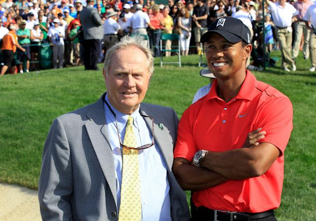 Jack and Tiger, but you knew that. (AP)