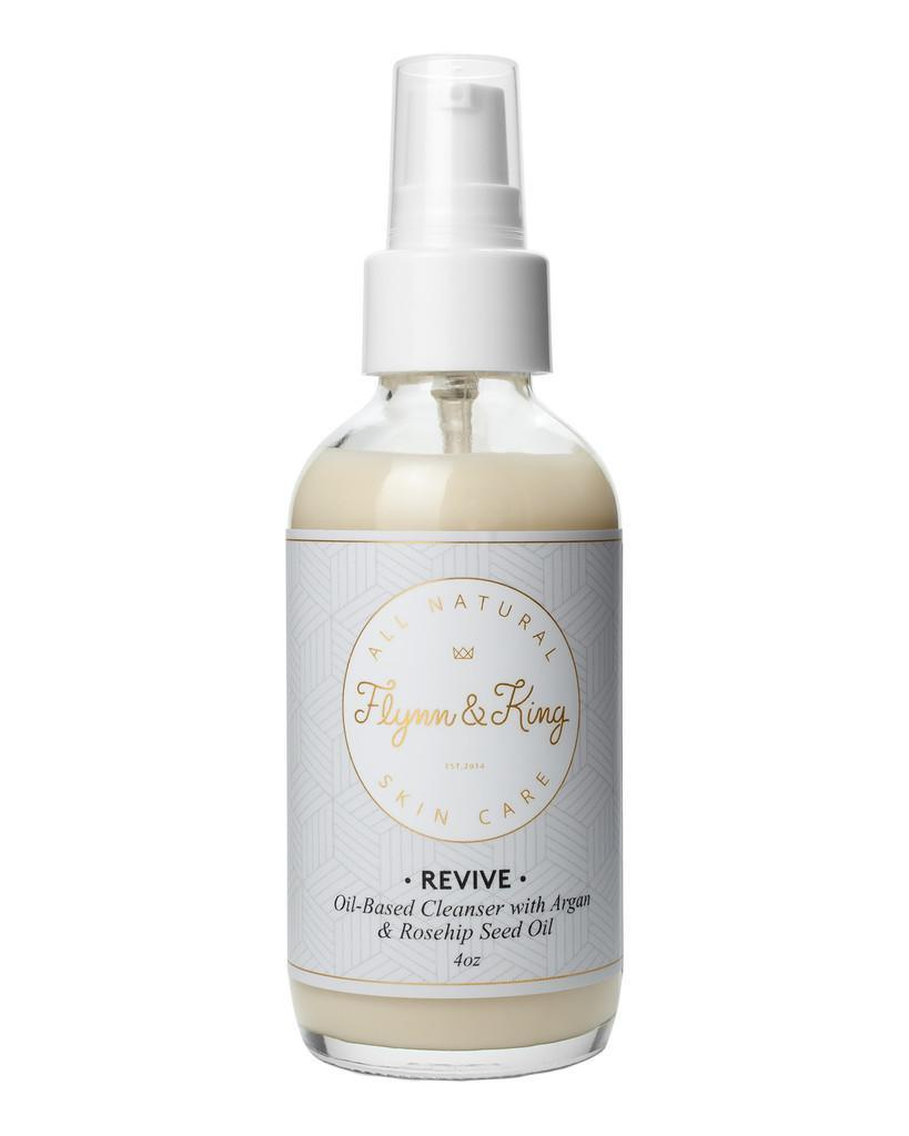 """<p>A cleanser so good, even dudes will like it. <a href=""""http://www.flynnandking.com/products/revive-oil-cleanser"""" rel=""""nofollow noopener"""" target=""""_blank"""" data-ylk=""""slk:Flynn & King Revive Oil-Based Cleanser with Argan and Rosehip Seed Oil"""" class=""""link rapid-noclick-resp"""">Flynn & King Revive Oil-Based Cleanser with Argan and Rosehip Seed Oil</a> ($45) </p>"""