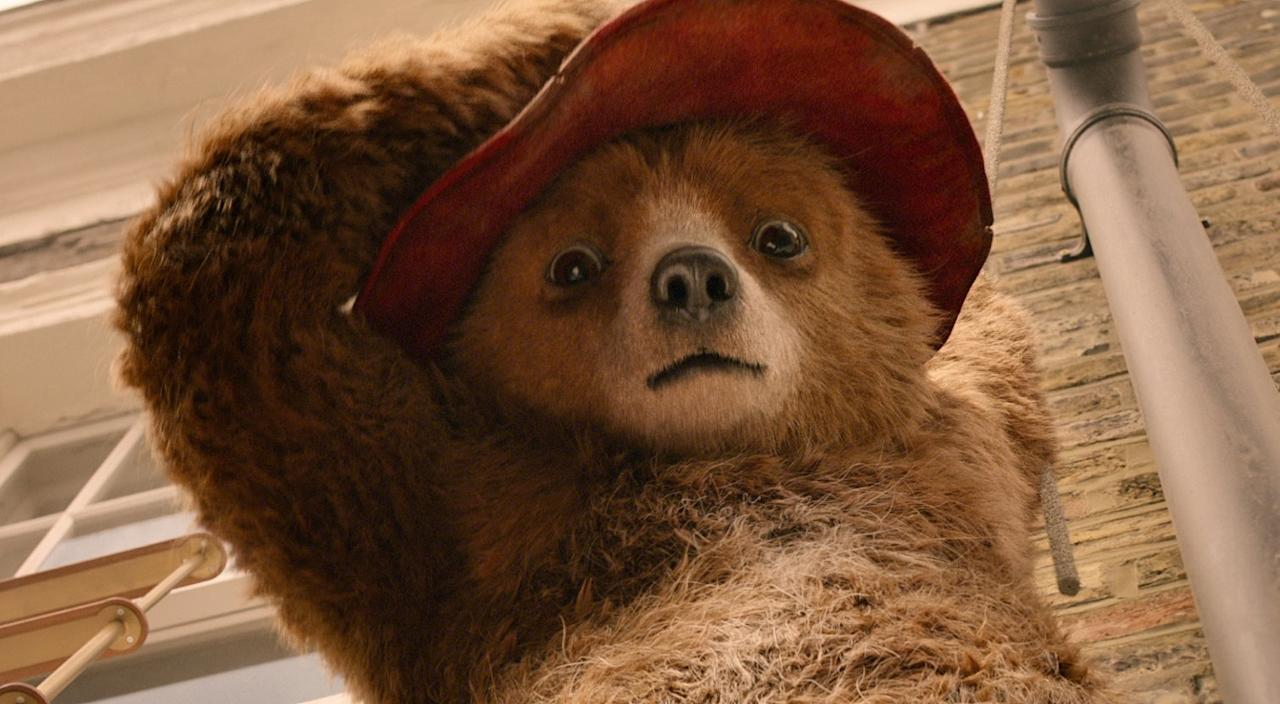 <p>Michael Bond's beloved character is back in cinemas now in 'Paddington 2' – but he's neither the first nor last bear to grace the big screen. (Credit: Studiocanal) </p>
