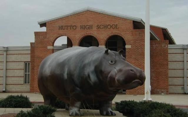 The city of Hutto is very proud about being the Hippos — City Data