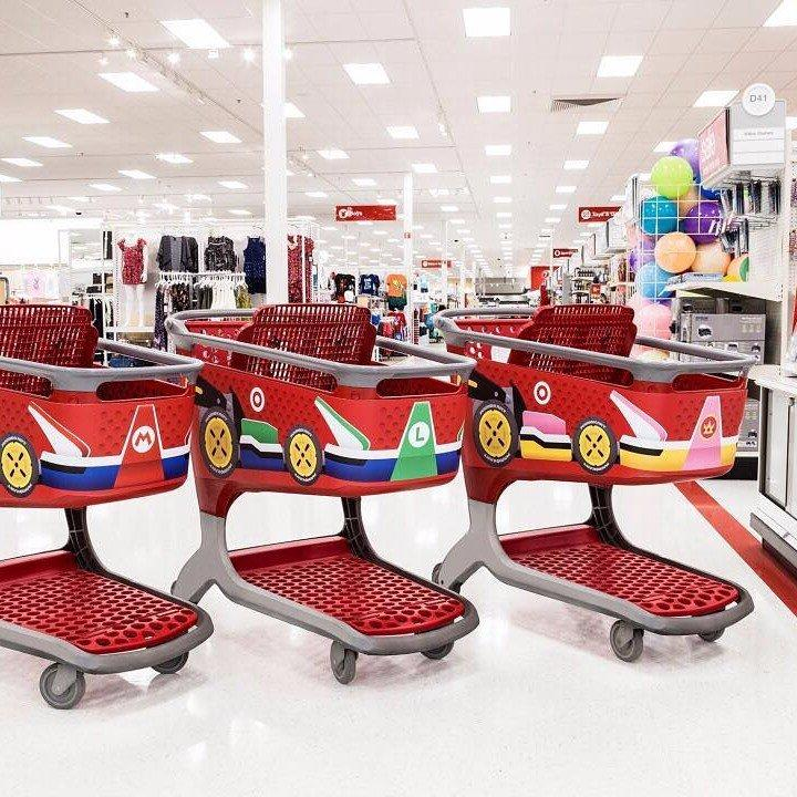 Target Has Made a BIG Change to Their Shopping Carts, and It's Way Too Fun