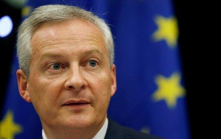 French Finance Minister Bruno Le Maire speaks on tax issues at a joint hearing with lawmakers of the economic affairs committee and the special committee on financial crime at the European Parliament in Strasbourg, France, October 23, 2018. REUTERS/Vincent Kessler