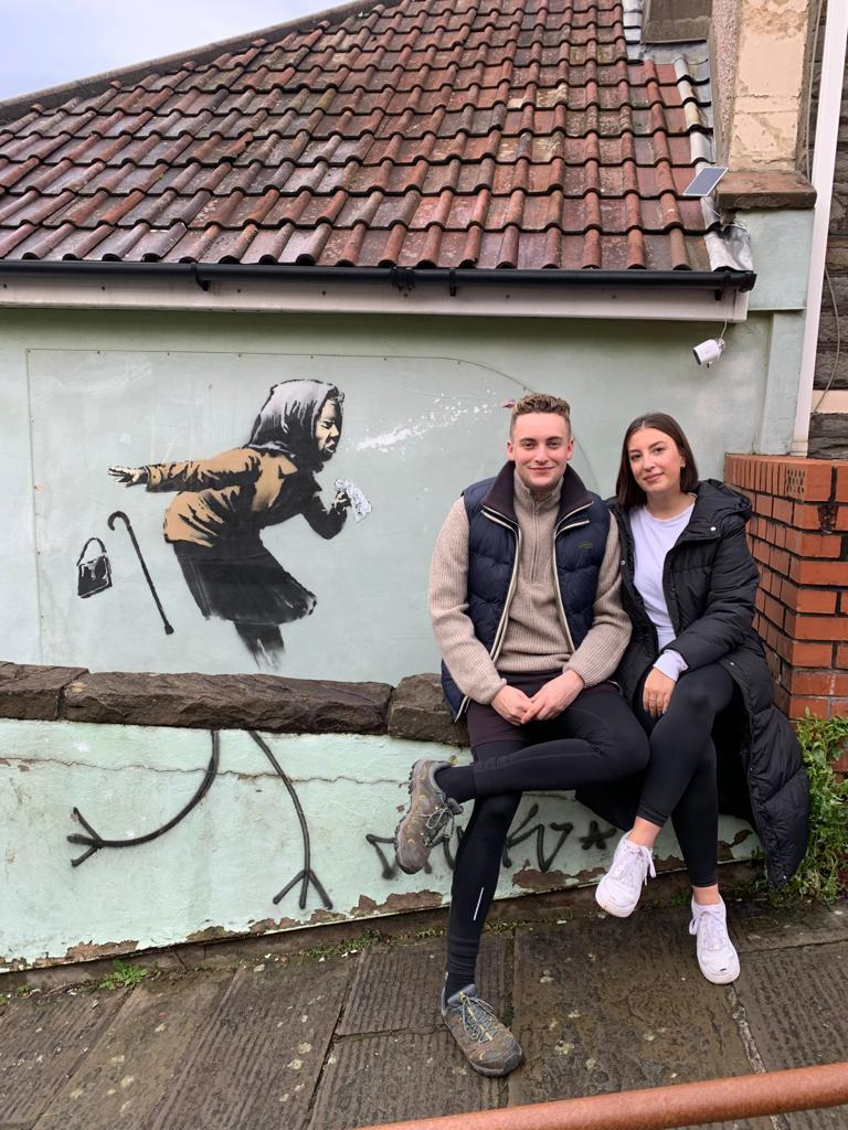 <p>Michael and Tamara moved from Tooting to Bristol</p> (Michael and Tamara)