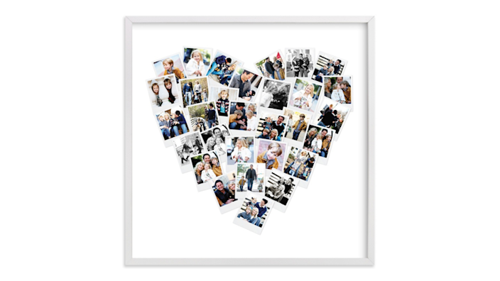 Best gifts for women: Minted Heart Photo Frame