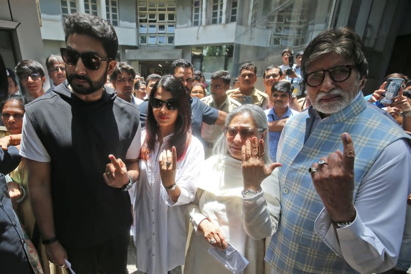 Three generations of Bollywood's Bachchan family hit by COVID-19