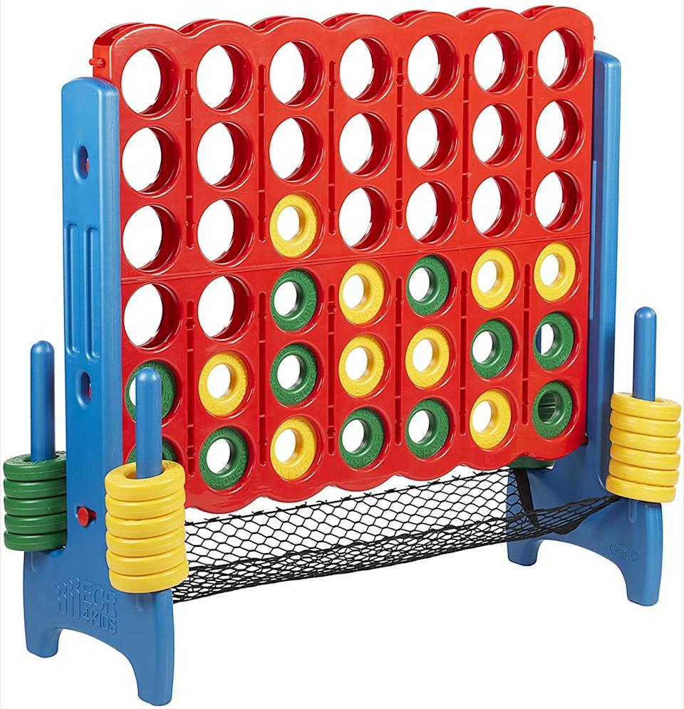 Jumbo sized connect four game