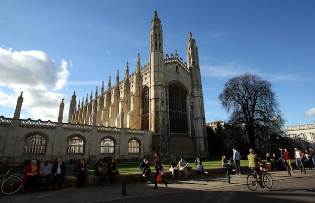King's College, part of the University of Cambridge. Photo: PA