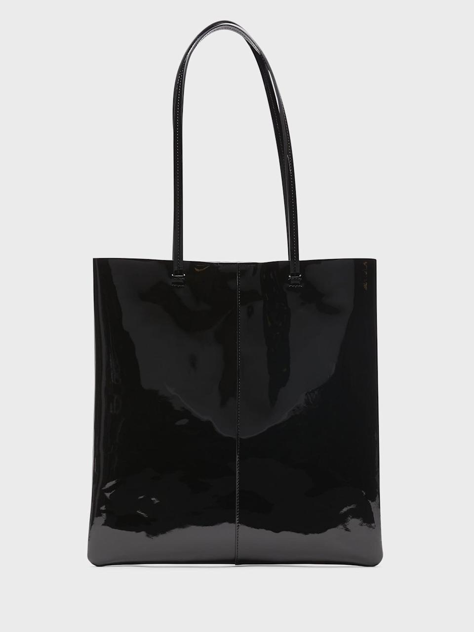 <p>Chic and timeless, this <span>Banana Republic Leather Effortless Tote</span> ($68, originally $98) makes a great gift!</p>