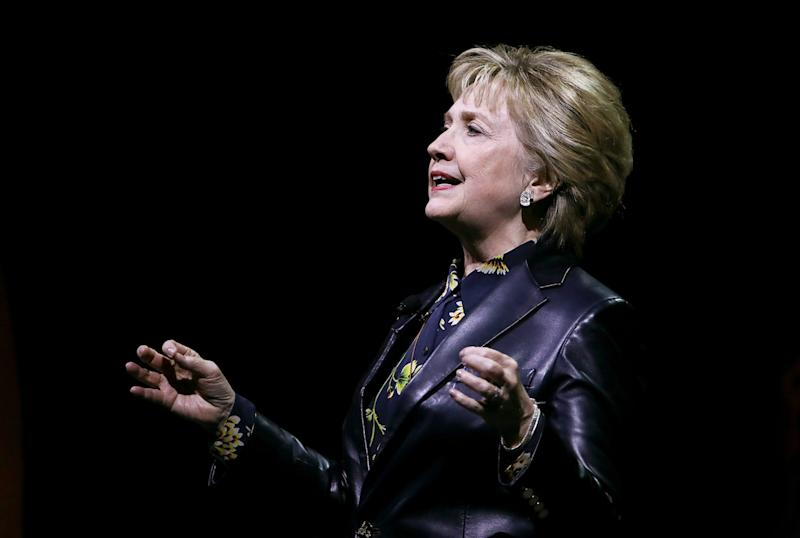 What Hillary's Leather Jacket Reveals About Her New, Post-Election Persona