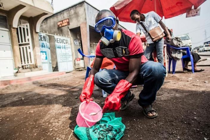 Local authorities say they have taken measures to contain the virus (AFP Photo/PAMELA TULIZO)