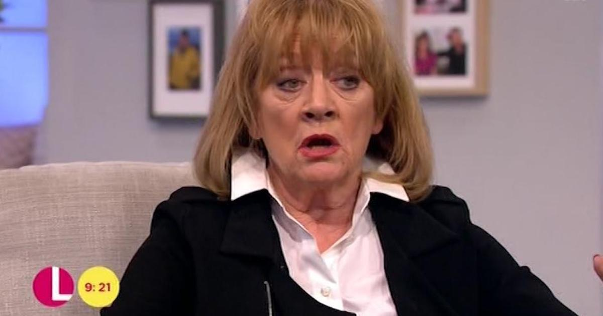 Amanda Barrie revealed she had an unique talent: 'S*** hot' segway skills (Copyright: ITV)