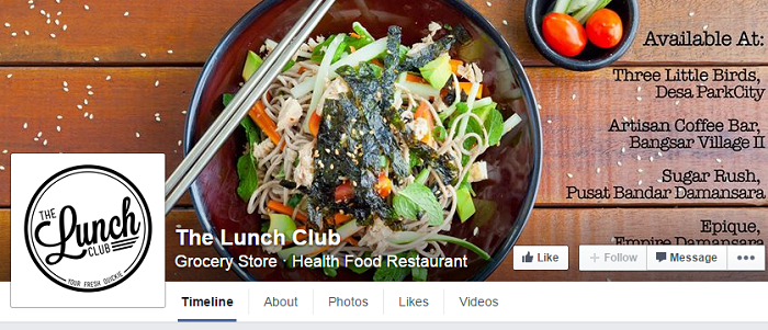 Image Credit: The Lunch Club Facebook
