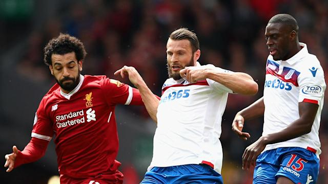 The Reds' 43-goal forward has not been charged by the Football Association following an incident during a Premier League stalemate with Stoke City