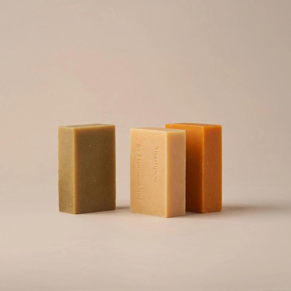 <p>All-natural <span>By Humankind Shampoo Bars</span> ($30 for two) are shipped in recyclable packaging, eliminating single-use plastic to avoid waste.</p>