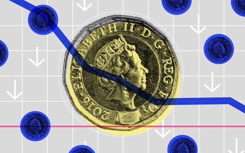 """Sterling sank after an EU official said were """"no landing zones"""" yet in Brexit trade talks"""