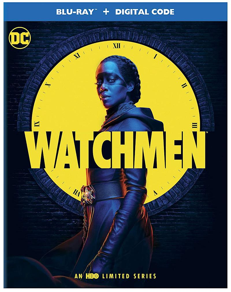 'Watchmen' Blu-ray cover (WB)