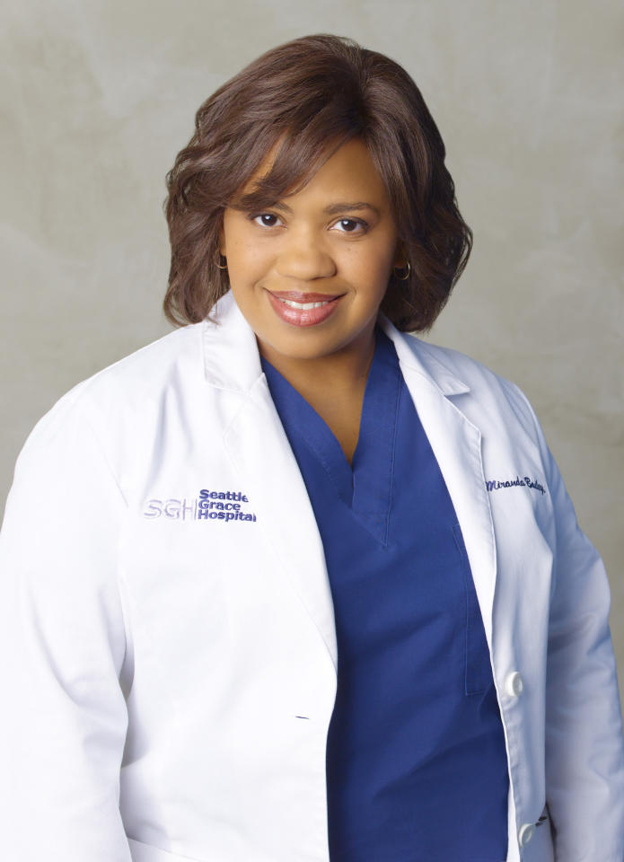 """<span style=""""font-weight:bold;"""">Chandra Wilson</span> as Miranda Bailey, """"Grey's Anatomy"""" (2005-present)<br><br>Outstanding Supporting Actress in a Drama Series<br><br>0 wins, 4 consecutive nominations (2005-2009)"""