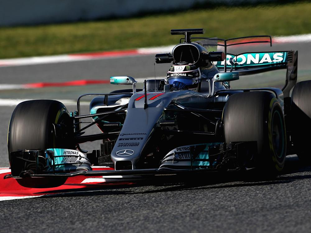Valtteri Bottas is determined in his first year with Mercedes: Getty