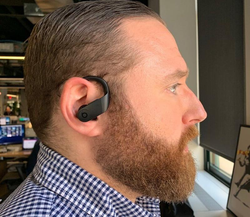 The PowerBeats Pro are a great set of earbuds for both Android and Apple users. (Image: Dan Howley)