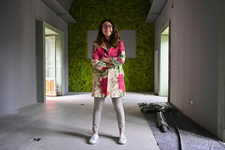 Elena Militello, 28, founded the South Working association, a support network for anyone considering a move to southern Italy.