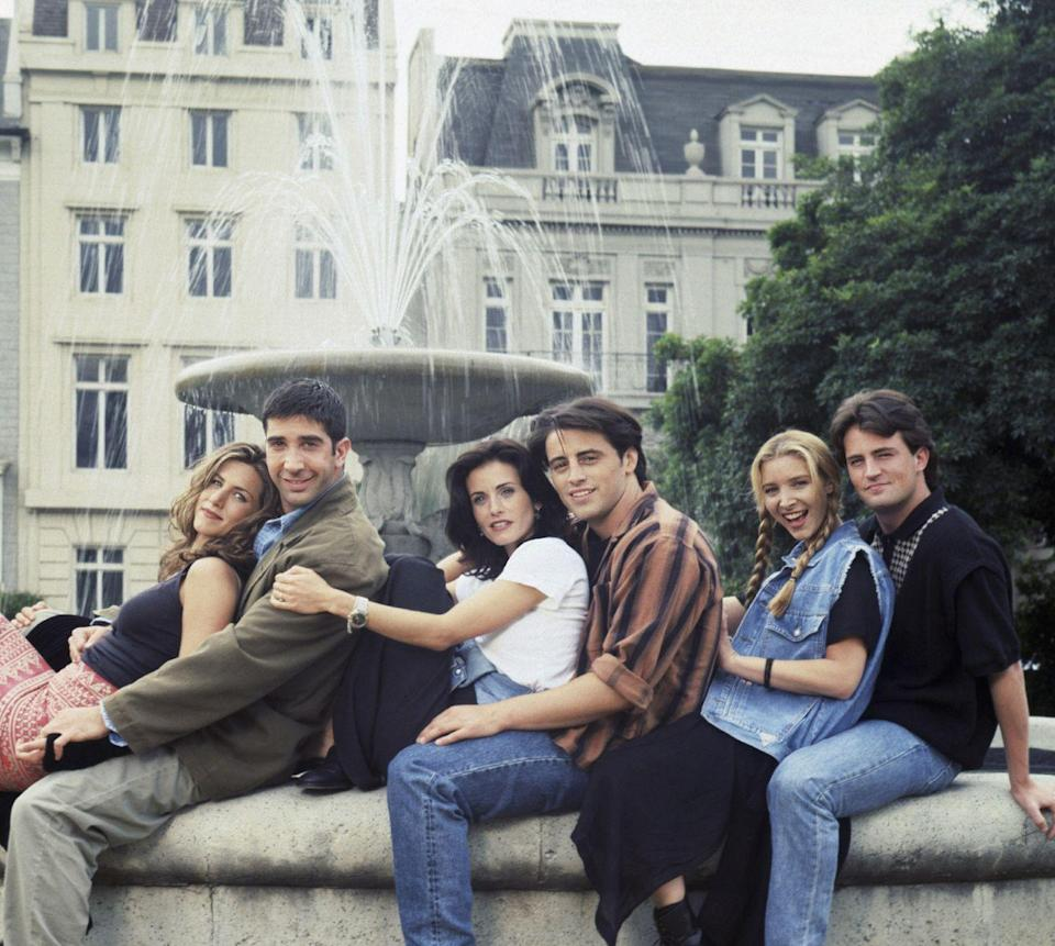 <p>Probably even more popular now, <em>Friends</em> starring Jennifer Aniston, Courteney Cox, Lisa Kudrow, Matt LeBlanc, Matthew Perry and David Schwimmer premiered on September 22. The series lasted 10 seasons and has remained a fan favorite. </p>