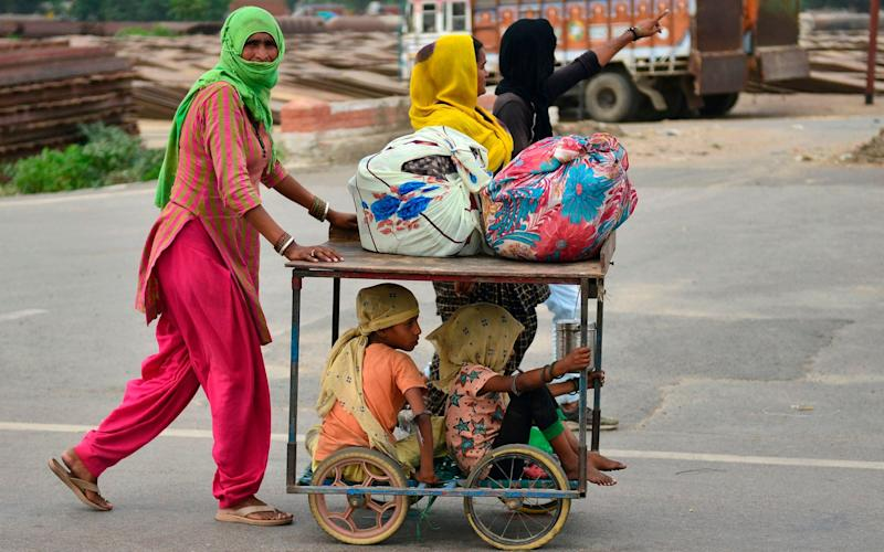 Labourers returned home in the largest internal migration since Partition - Sanjay Kanojia/AFP