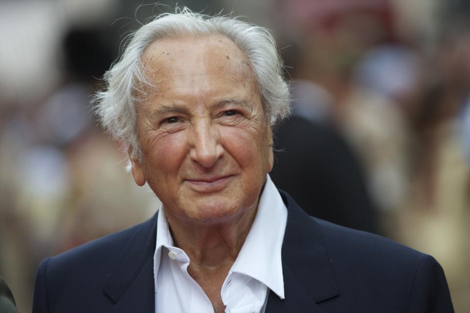 Film director Michael Winner arrives for the premiere of 'The Expendables,' on Monday night, August 9, 2010, at the Odeon, Leicester Square in London. (Photo by Mark Makela/Corbis via Getty Images)