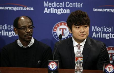 MLB: Texas Rangers-Press Conference