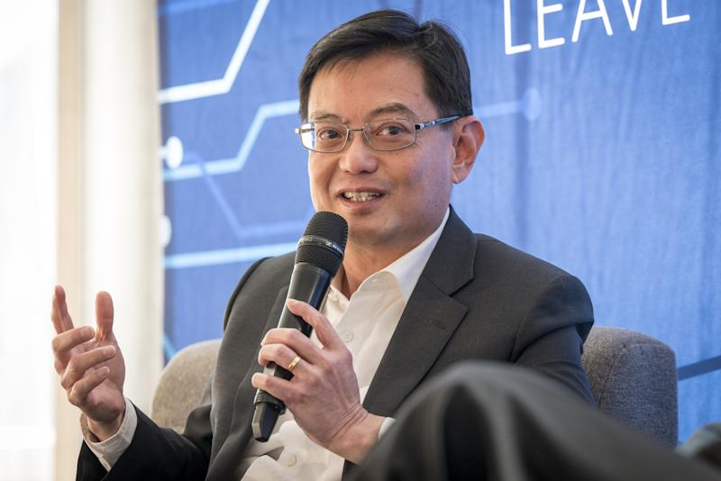 Singapore's Pre-Election Cabinet Change Sets Heng Up for Top Job
