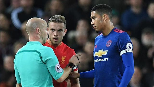 <p>Chris Smalling was another early choice for Van Gaal in the United captain stakes, with the centre-back developing incredibly well during the 2014/15 and 2015/16 campaigns and falling into line as the third captain.</p> <br><p>Smalling remained in Jose Mourinho's thoughts as a stand-in and has continued to be handed the armband, this season, notably forthe huge clash against Liverpool at Anfield.</p>