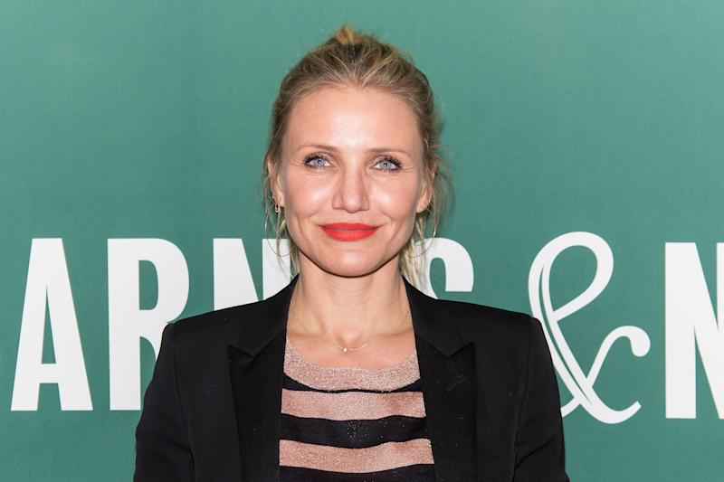 NEW YORK, NEW YORK - APRIL 06: Actress Cameron Diaz attends her book signing for 'The Longevity Book: The Science of Aging, the Biology of Strength, and the Privilege of Time' at Barnes & Noble Union Square on April 6, 2016 in New York City. (Photo by Gilbert Carrasquillo/FilmMagic)