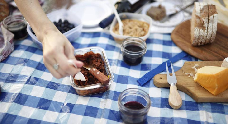 Picnic rugs see surge in sales as people head outside. (Getty Images)