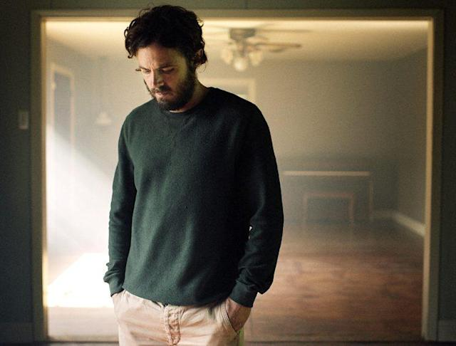 Casey Affleck in <em>A Ghost Story</em> (Photo: A24)
