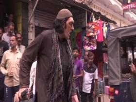 8-feet tall Afghan cricket fan struggles to find place to stay in Lucknow